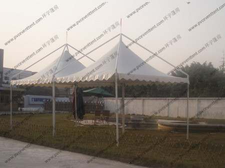 3 X 3m Painted Exhibition Dome Tent Circular Tube With White Pvc Fabric