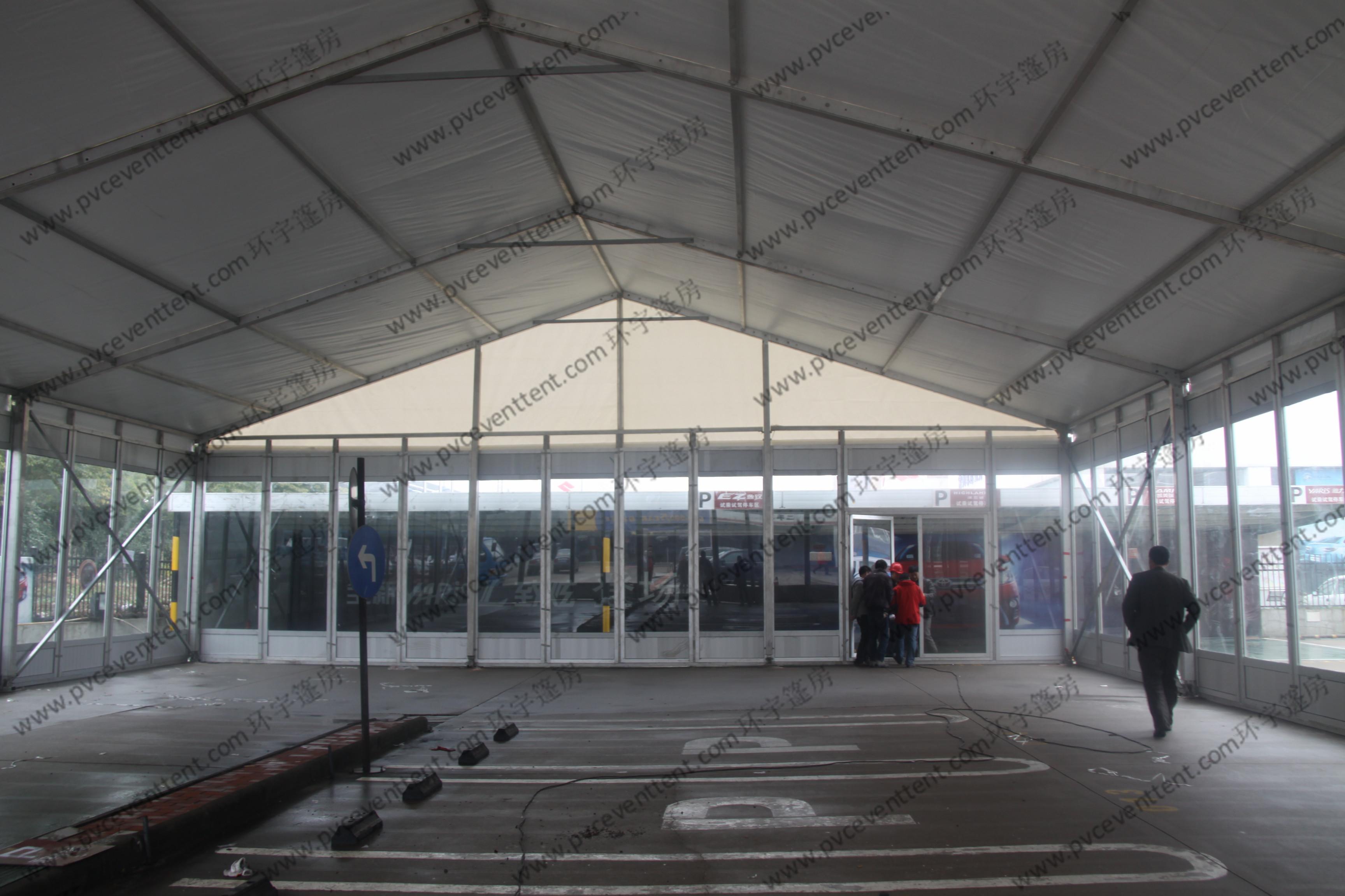 350-500 Seaters Marquee Tent Wedding Reception As Banquet Hall , Long Life Span