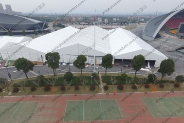 China Large Outdoor Show Tents Modules Inflatable Roof Cover Simple Cassette Flooring distributor