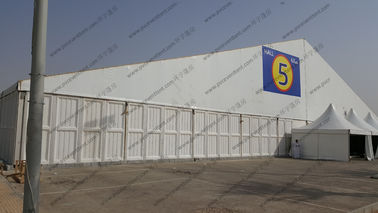 China High Peak 30 x 60m Huge Event Tents With ABS Sidewalls Max Allowed Wind Speed 100 km /h distributor