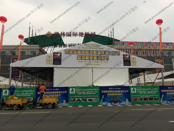 China 20m Width Outdoor Exhibition Tents , Inflatable Exhibition Tent For Beer Festival Celebration distributor