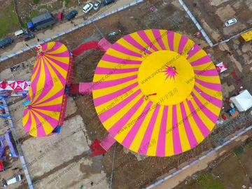 Red Yellow Roof Cover Outdoor Circus Tents