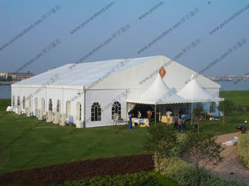 China 20 x 25m White Wedding Event Tents , Outdoor Luxury Wedding Tent / Wedding Ceremony distributor