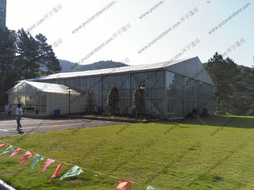 China Solid Aluminum Structures Wedding Party Tent In Garden 25 x 75m More Than 500 People distributor