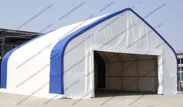 China Customized Aircraft Hangar Tent , Outdoor Airplane Tent For Temporary Army distributor
