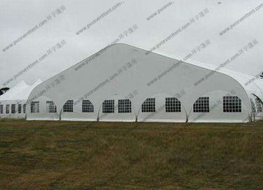 China Transparent Windows Curved Tent Aluminum Frame Easy Dismantled For Outdoor Event distributor