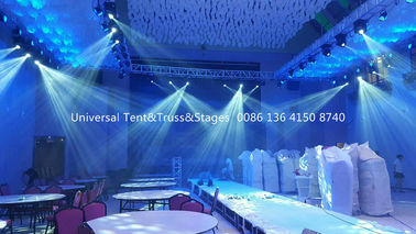 China Wedding Stage Lighting Truss , Custom Aluminium Truss System Heavy Loading distributor