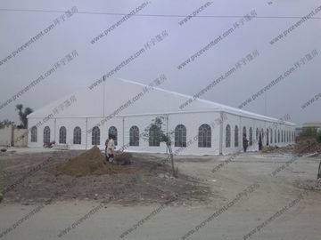 China Durable Great Waterproof White Wedding Event Tents Big Size For 1000 People factory