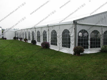 China Luxury Transparent PVC Cover Clean Span Wedding Event Tents As Outdoor Banquet Hall factory
