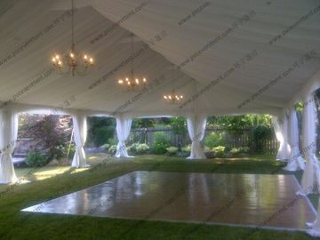 China Clear Roof Marquee Party Transparent Wedding Event Tents For Outdoor Banquet factory
