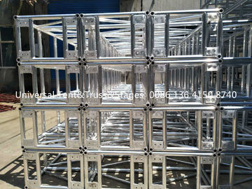 China Light Weight Stage Lighting Truss , Heavy Loading Aluminum Lighting Truss distributor