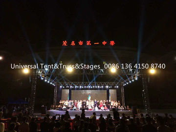 China Popular Aluminum Spigot Stage Lighting Truss , Portable Lighting Truss distributor