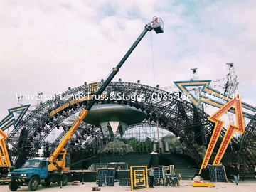 China Circus Aluminum Spigot Truss Stage Lighting Scaffolding For Event , Outdoor Concert , Party distributor