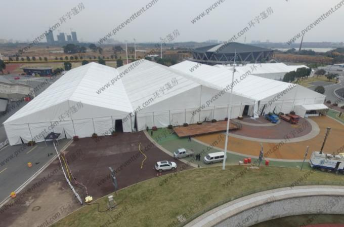 Large Outdoor Show Tents Modules Inflatable Roof Cover Simple Cassette Flooring