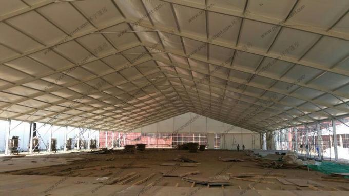 40M Clear Span Conference Event Tent with AC System and Luxury Carpet for more then 800 People