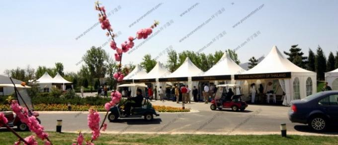 Luxury Modular Pagoda Party Tent , Trade Shows Use Commercial Event Tent