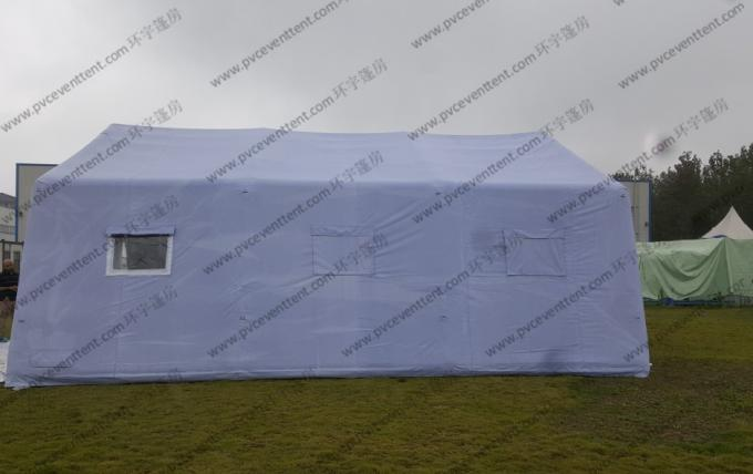 White PVC Outdoor Event Tent , Easy Installed Inflatable Large Tents For Outdoor Events