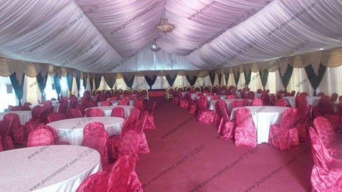 Colorful Painting Decoration Event Tents PVC Cover For Outdoor Hajj