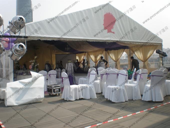 Glass Walls Beautiful Wedding Event Tents Hold 600 People