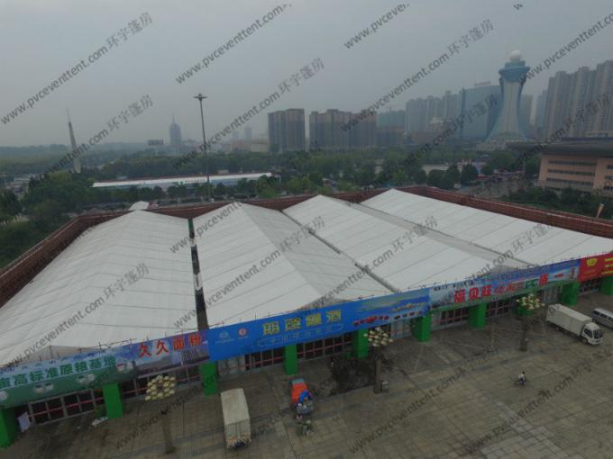 Giant Outdoor Exhibition Tents , Special Event Tents Waterproof Cover For Outside Exhibition
