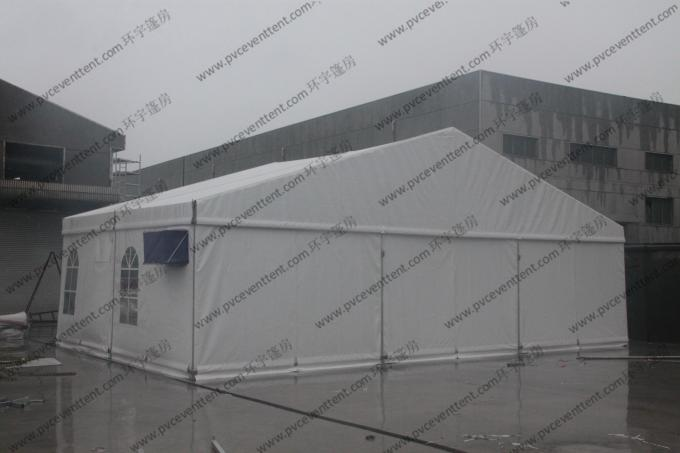 Easy Installed Hajj PVC Event Tent 15 x 15m Portable White Waterproof