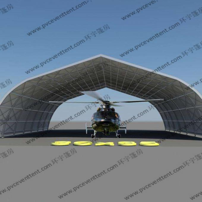 Water Proof Aluminum Frame Aircraft Hangar Tent For Large Aircraft Parking And Maintance