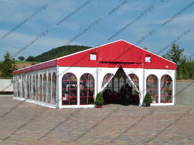 Durable Great Waterproof White Wedding Event Tents Big Size For 1000 People