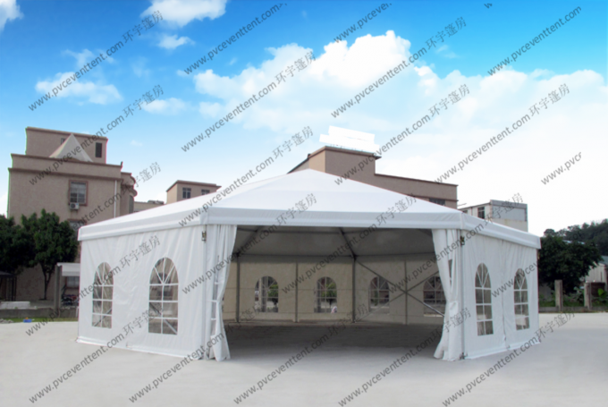 White Or Colorful PVC Roof Cover Outdoor Gazebo Tent , Pagoda Tent For Events