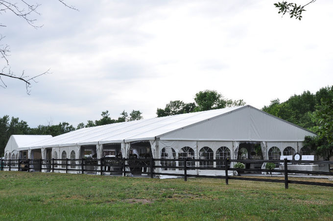 1000 People Arched Outdoor Marquee Tent For Event Parties And Celebrations