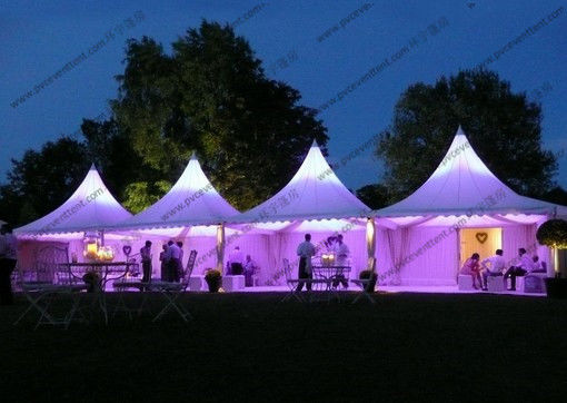 Lights Decoration Or Transparent Sidewalls Pagoda Canopy Tent For Outdoor Wedding And Event